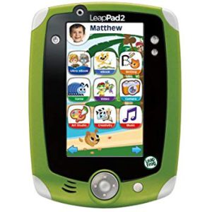The colrful picture of the LeapPad explorer 2, kids edition fun learning tablet.