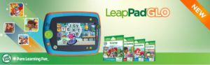 The amzing and very colorful picture of the LeapPad Glo, fun learning tablet.