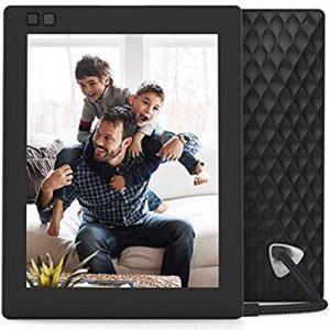 Best buy kids Tablets. The picture of a Father and his two sons playing on the coach.