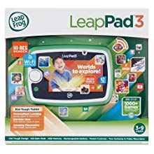 The very colorful picture of the LeapFrog-Leappad 3, fun learning tablet.