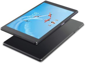 The picture of a Lenova Tab 4 tablet.