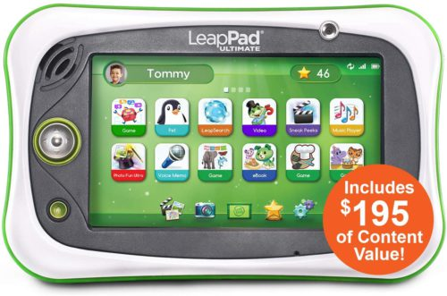The best tablet reviews. The colorful picture of the LeapFrog Ultimate fun learning tablet