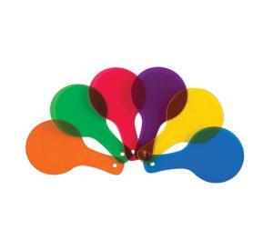Color Paddles.