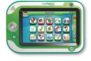 The colorful picture of the leapFrg ultra, fun learning tablet.