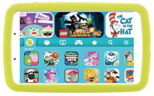 The smart rated tablet deals. The Galaxy tab e Lite, Kids edition. tablet.