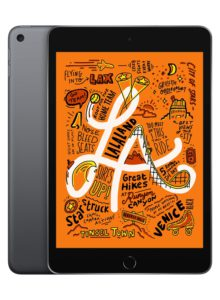 Digital learning for kids. The Applea Ipad mini.