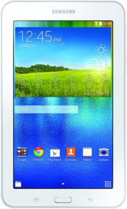 Kids tablet with educator endorsed learning apps. Samsung Galaxy Tab E Lite