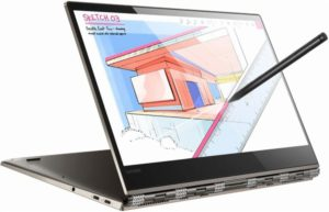 Best rated laptop for E-learning.  Lenovo Yoga 920