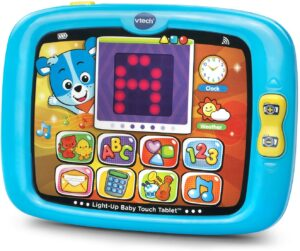 The best electronic educational toys for kids. VTech Light-Up Baby Touch Tablet Amazon Exclusive