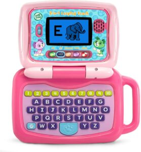 2-in-1 LeapTop Touch by LeapFrog. Best Educational Toys For 3-Year-Olds Seeking Early Academic Growth