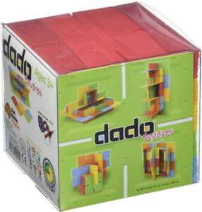 Dado Cube by Fat Brain Toys. Best Educational Toys For 3-Year-Olds Seeking Early Academic Growth