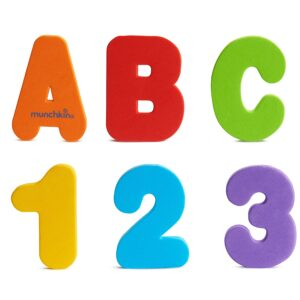 Bath Letters and Numbers by Munchkin. Best Educational Toys For 3-Year-Olds Seeking Early Academic Growth