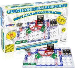 The Snap Circuits Snaptricity. Best Electronic Educational Toys In 2021-Kids Learning Tablets