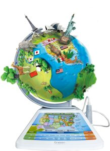 The Oregon Scientific Smart Globe. Best Electronic Educational Toys In 2021-Kids Learning Tablets
