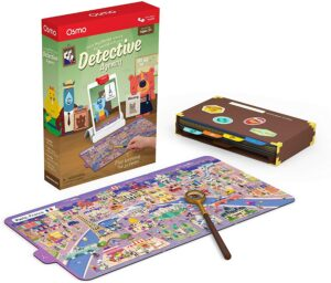 Osmo Detective Agency. The Best Coding Toys for Kids-Early Preschool Learning Systems